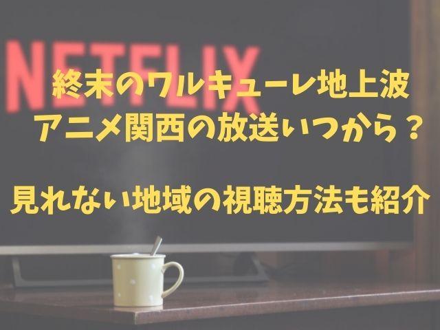 終末のワルキューレ地上波アニメ関西の放送いつから?見れない地域の視聴方法も紹介